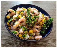 Quinoa Seafood Salad Seafood Salad, Quinoa, Potato Salad, Potatoes, Nutrition, Healthy Recipes, Ethnic Recipes, Potato, Healthy Eating Recipes