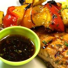 Korean BBQ Sauce Allrecipes.com - Great sauce, used it on the Salmon and Fruit recipe.