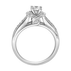 I love this. A lot. Maybe it looks different on or something, but I really really like it. Here's a link to the top down view (Which I like a little less)  http://www.littmanjewelers.com/Assets/Images/Products/1391556.xl.jpg