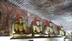 Cuevas de Dambulla. Sri Lanka.