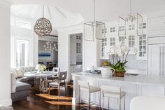 white kitchen arch digest