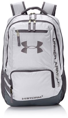 Under Armour Hustle II Premium Backpack - White    More info could be found  at 771a321133703