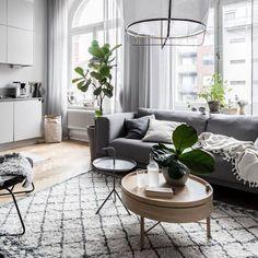 60+ Modern Living Room Decor Ideas - Cozy swedish living room