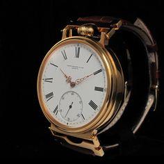 Men's GOLD 1900 PATEK PHILIPPE & CO GENEVA Vintage Watch PRECISION CHRONOMETER