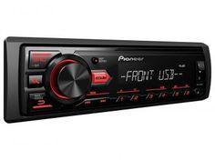 Som Automotivo Pioneer MVH-88UB MP3 Player - Rádio AM/FM Entrada USB Auxiliar  com as melhores condições você encontra no Magazine Allameda. Confira!