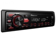 Som Automotivo Pioneer MVH-88UB MP3 Player - Entrada USB/Auxiliar