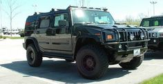 Wisconsin, Milwaukee Wisconsin, Bergstrom Hummer & Chevrolet, H2 Hummer (Black)