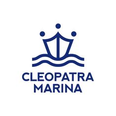 Logo and corporate identity for Cleopatra Marina in Actium by 2yolk.