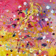 Lightscape-serie. 30 x 30, © 2013, € 95,00 Tweedimensionaal | Schilderkunst | Acryl | Op doek  Getoond op 'EYE-CANDY' , Atelier Expositieruimte (1150m2) Kunstenaar Anita ammerlaan, Markt 39 in het centrum van Roosendaal(nb) www.anitaammerlaan.exto.nl