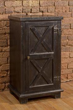 Bellefonte X Design 1 Door and 3 Tier Cabinet