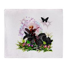 Garden Fairies - Elf Series 4 Throw Blanket