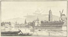 De Kamperpoort te Zwolle, Hendrik Spilman, 1737 - 1779
