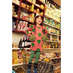 Nadadelazos Organic Dress - BROCCOLI Broccoli, Kids Fashion, Cold Shoulder Dress, Organic, Sweatshirts, Tees, Dresses, Kuchen, Vestidos