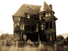 May I have this abandoned mansion?  I'll love it and take care of it!