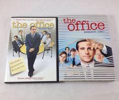 The Office Complete Seasons 1 2 DVD Set Original 1st Steve Carell Rainn Wilson | eBay