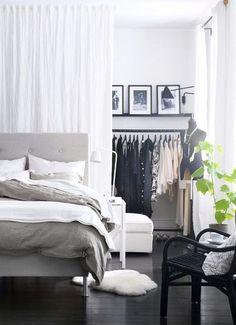 Chambre dressing Ikea