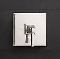 Dillon Balance-Pressure Shower Valve & Trim Set (Backplate)