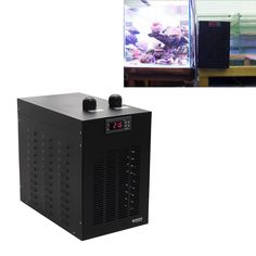 marine tank chiller water cooling machine 1/10HP suitable aquarium less than 160L for reef coral jellyfish shrimp water plants
