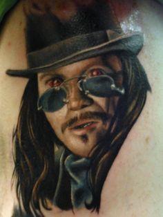 Vlad Tattoo by Kelly Doty