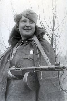 Yulia Yavorska, a Soviet nurse who rescued 56 wounded soldiers from the Battle Stalingrad in WWII.