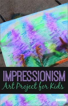 Monet art projects for kids crafts 30 ideas