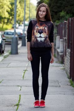 the-streetstyle:  Little Lion Manvia acupofstyle
