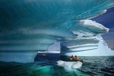 In this kayak in Glacier Bay, Alaska. | 30 Places You'd Rather Be Sitting Right Now