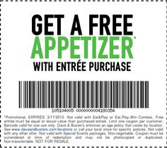 Dave Busters Printable Coupons 2014 Dave And Buster S