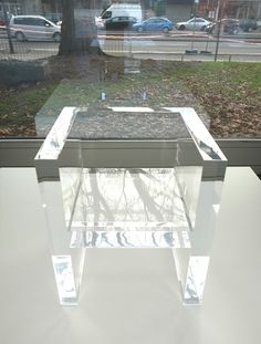 wow. take THAT ...ghost chair ;) Tokujin Yoshioka