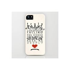 One Direction Truly Madly Deeply (135 BRL) ❤ liked on Polyvore featuring accessories, tech accessories, phone cases, phone, one direction and truly madly deeply