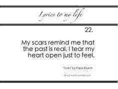 #lyrics #past #scars