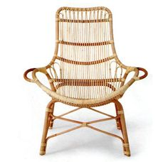 Rattan Chair: Haus Interiors