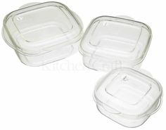 Microwave Casserole Three Piece Set * Learn more by visiting the image link.-It is an affiliate link to Amazon.