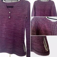 Ravelry: lucidblue's Wanderling pullover