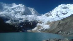 Laguna de Palcacocha Huaraz Perú.