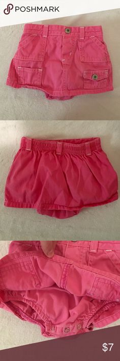 3/6 Months baby girl skirt/Skort Super cute. Great for the summer 3/6 months Other