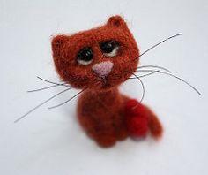 c5 (agaFil) Tags: cat felting felt needlefelt