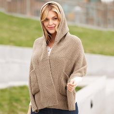 Popcorn Stitch Hooded Scarf   Avon Dual-purpose! The knit camel scarf in a luxe popcorn stitch features a built-in hood and a pocket on each end.  Regularly $24.99.  Buy online at snalley.avonrepresentative.com