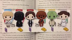 These little cuties will keep you company and hold your place in any book! Theyll probably make reading textbooks a little more fun too :)