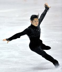 Daisuke Takahashi - men's figure skating - Japan.  I LOVE HIM.  I loved him in Vancouver  too.