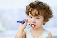 Check your child's teeth once a month for early signs of tooth decay. Look for chalky, white or light brown marks that cannot be brushed off. Don't wait! Visit your dentist as soon as possible.
