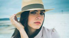 Camila in our Sibarita Hat.