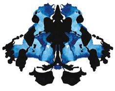 "10 x 12"" Rorschach Ink Blot Watercolor Giclee Print - SAMPLE SALE"