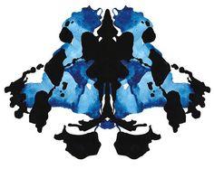 "10 x 12"" Rorschach Ink Blot Watercolor Giclee Print - SAMPLE SALE"