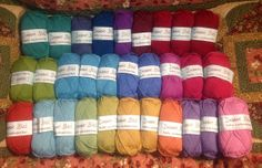 Debbie Bliss Baby Cashmerino - Assorted Colors - 30 skeins on Etsy, $235.00