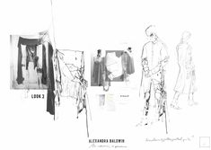 ARTS THREAD Profile - ARTS THREAD Sketchbook Layout, Textiles Sketchbook, Fashion Sketchbook, Sketchbook Inspiration, Portfolio Web, Fashion Portfolio Layout, Fashion Design Sketches, Fashion Illustration Portfolio, Illustration Mode