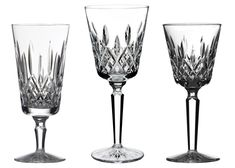Waterford Lismore, Waterford Crystal, Southern Living Magazine, Leaded Glass Windows, Crystal Champagne, Red Wine Glasses, Sweet Tea, Simple Lines, Southern Belle