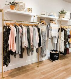 Clothing Boutique Interior, Clothing Store Design, Boutique Interior Design, Boutique Decor, Clothing Store Displays, Clothing Stores, Boutique Store Design, Boutique Store Displays, Retail Clothing Racks