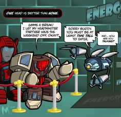Lil Formers - Headmasters by MattMoylan on DeviantArt