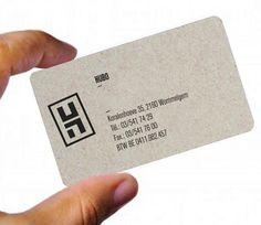 HUBO_  Carte de visite  Réalisation d'un logo Hubo et d'une carte de visite.